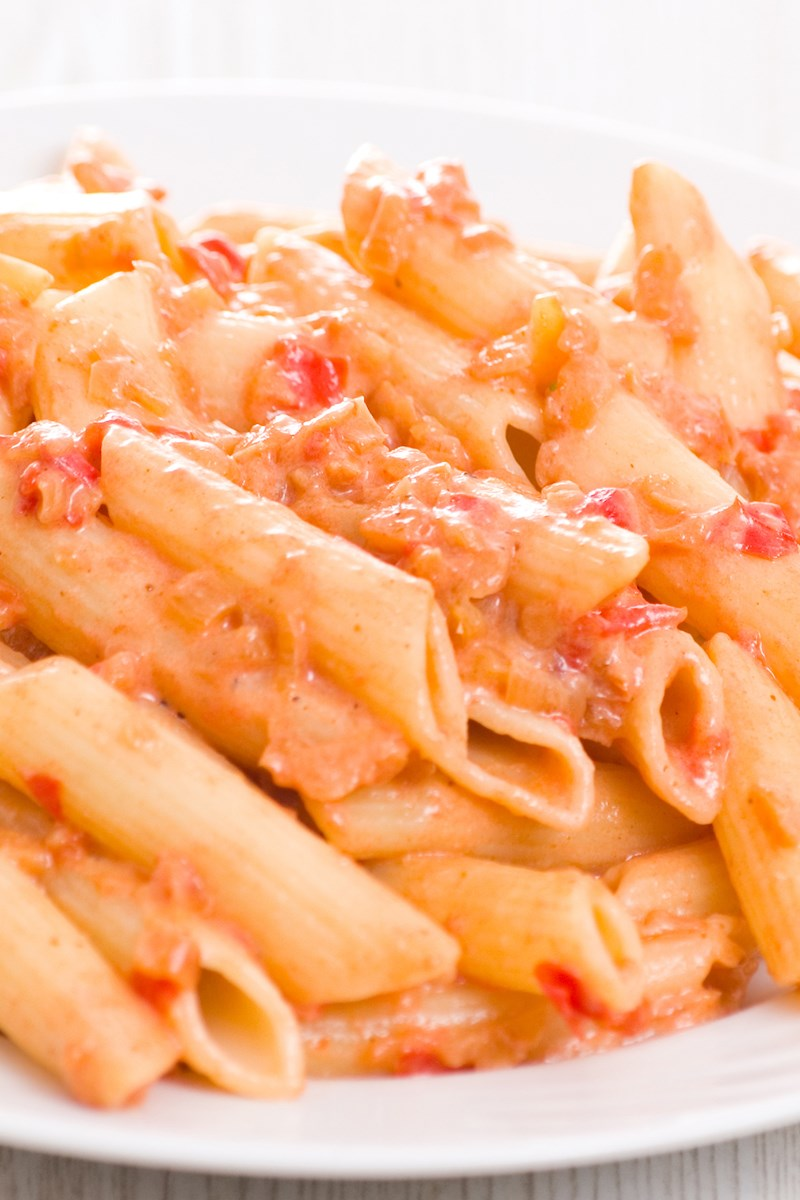 Restaurant Style Penne alla Vodka | KitchMe