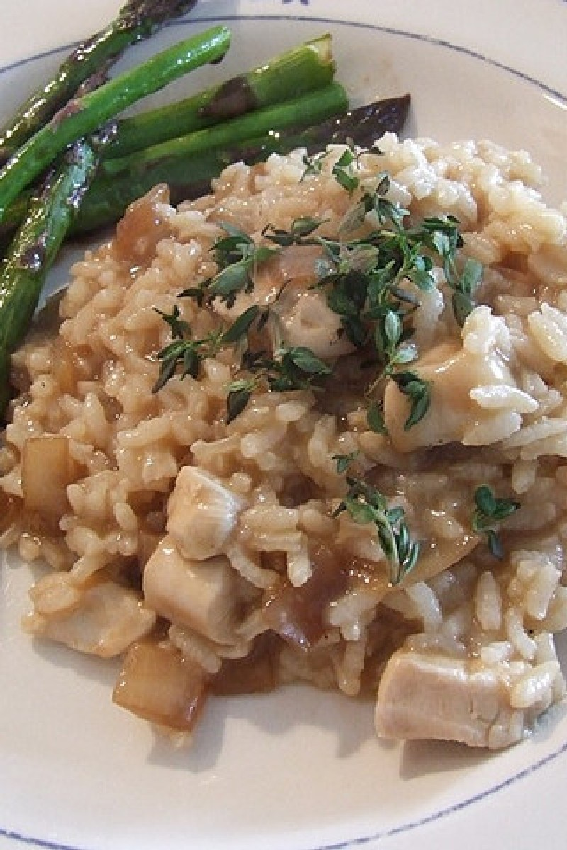 ... chicken with risotto roasted chicken with risotto herbed risotto with