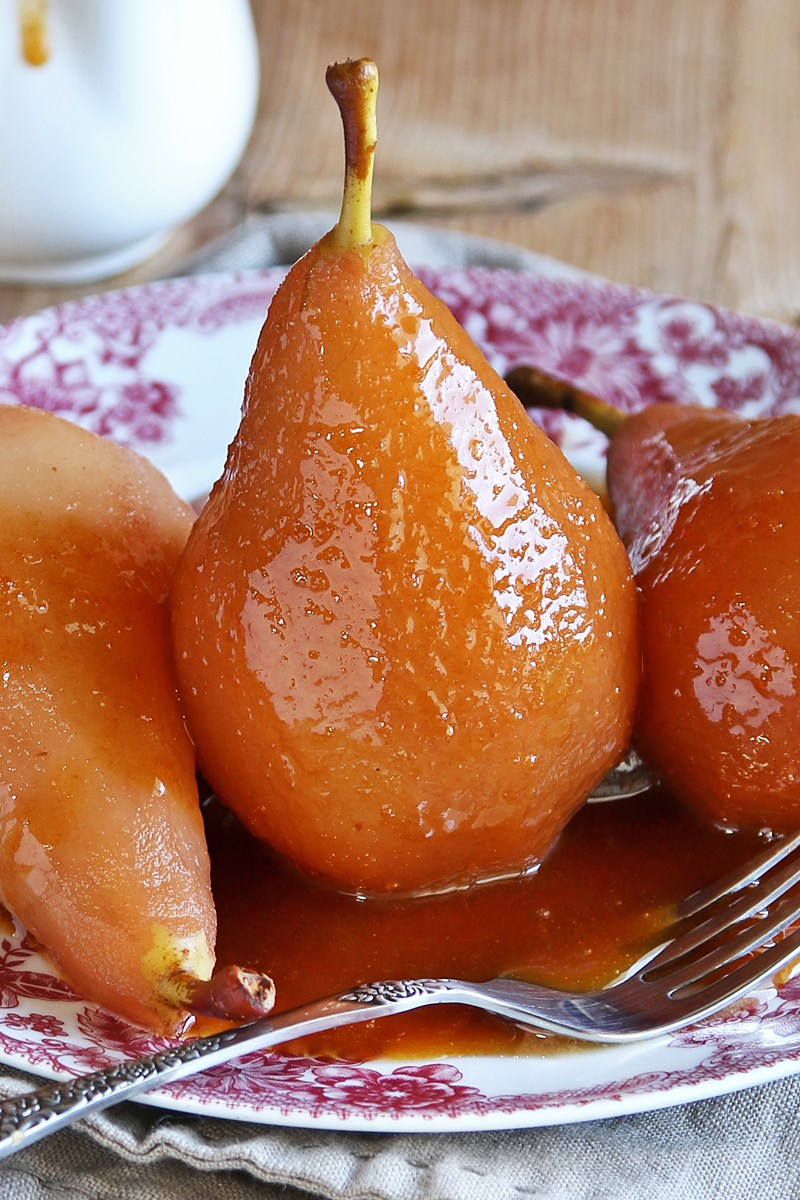 Pear Dessert: recipe. Pear Dessert with Caramel 19