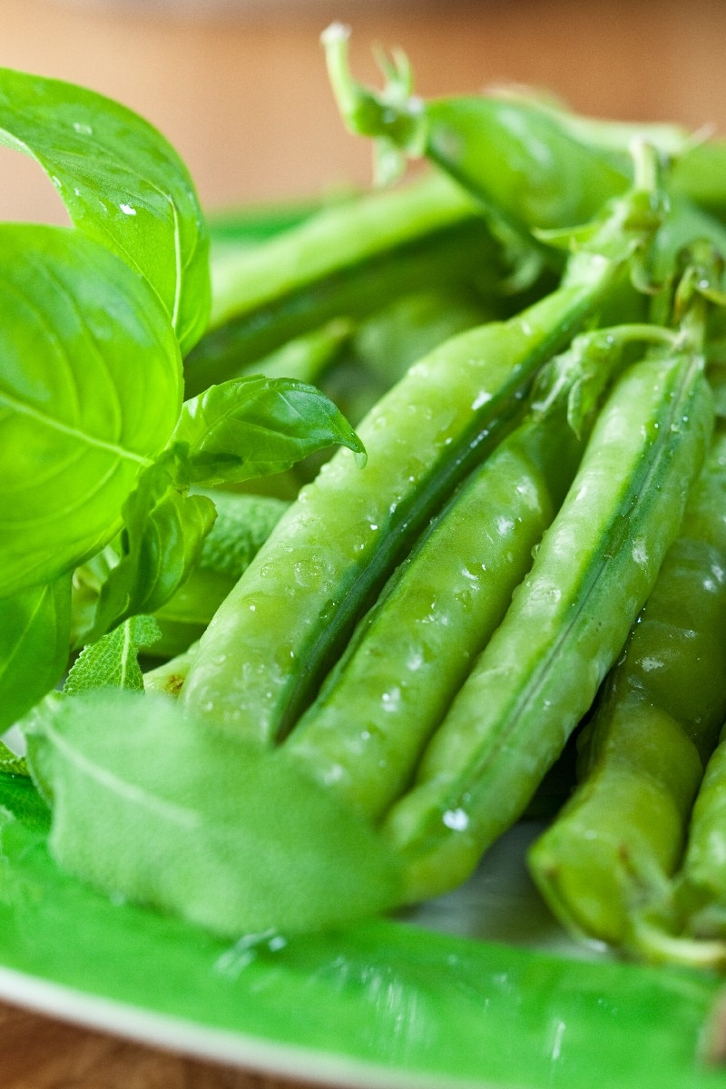 Sauteed Asparagus and Snap Peas | KitchMe