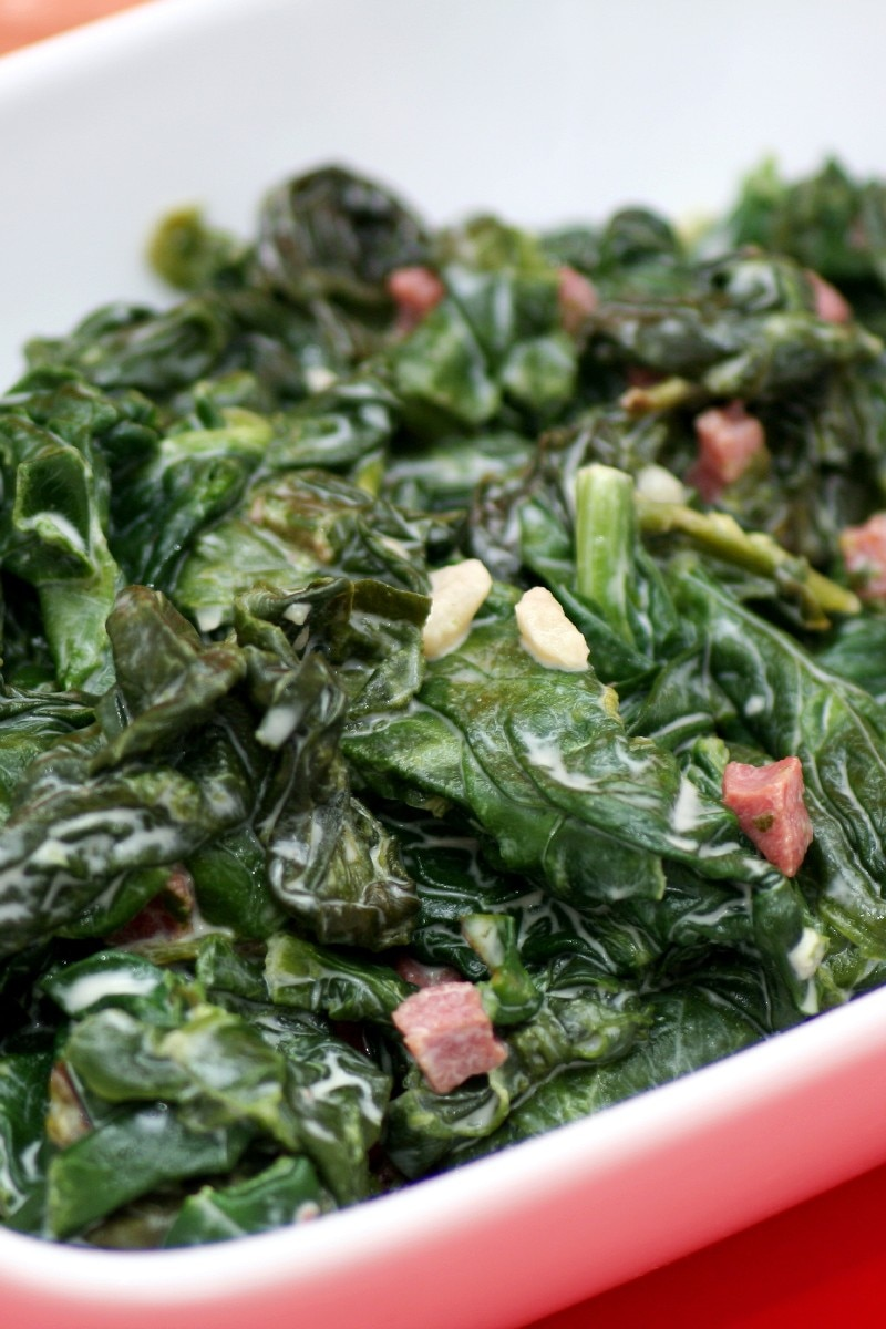 Sauteed Swiss Chard with Bacon | KitchMe