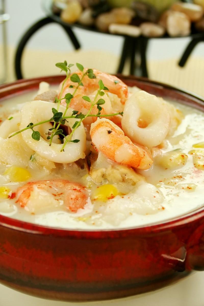 Shrimp Chowder Recipe — Dishmaps