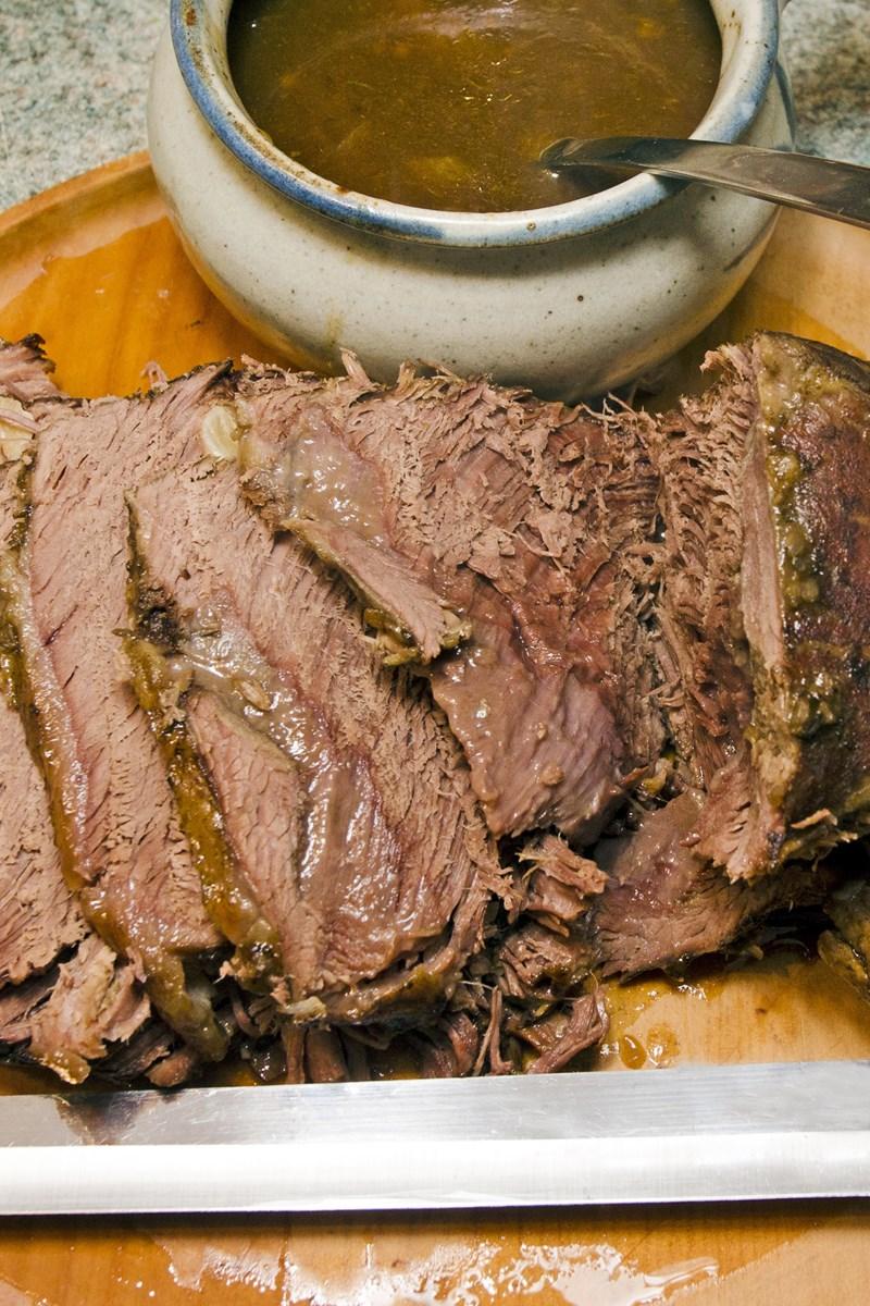 Best way to cook roast beef gravy