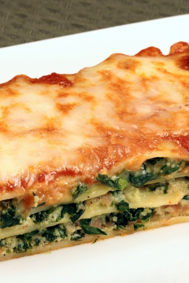 Simple Spinach Lasagna | KitchMe