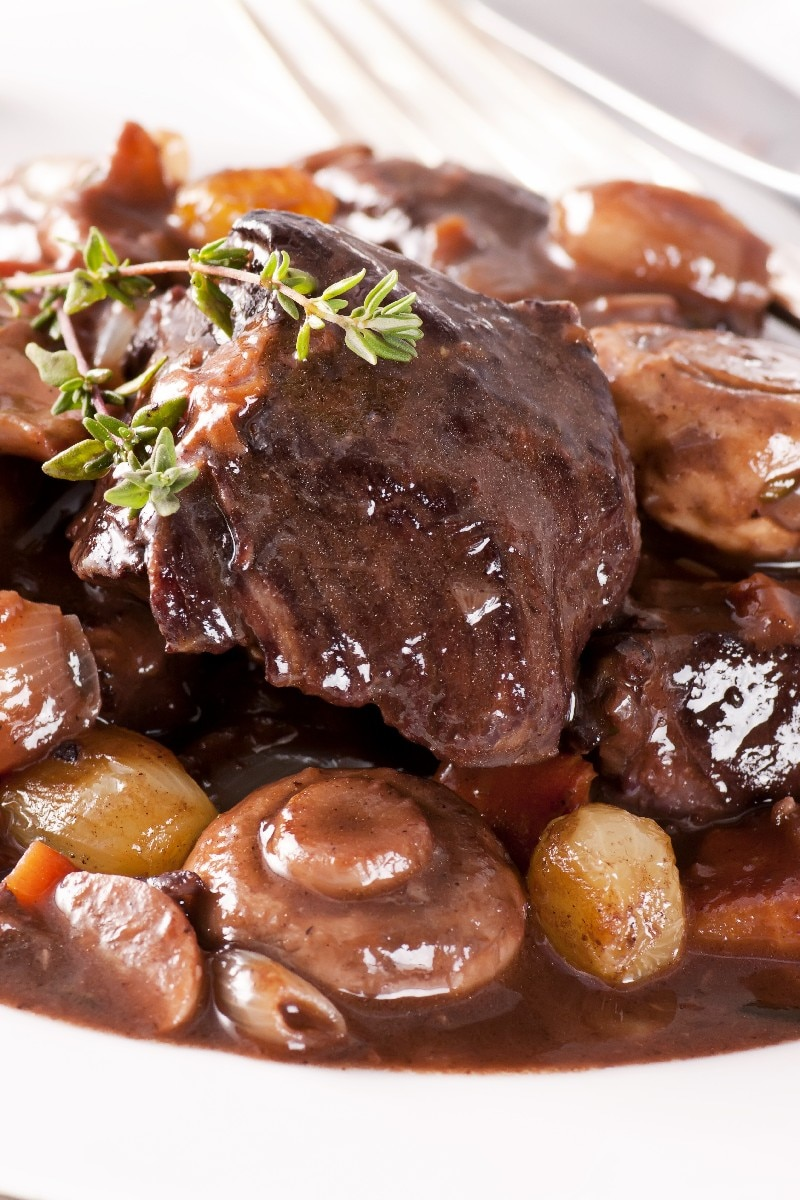Sirloin Beef Burgundy: Boeuf Bourguignon | KitchMe