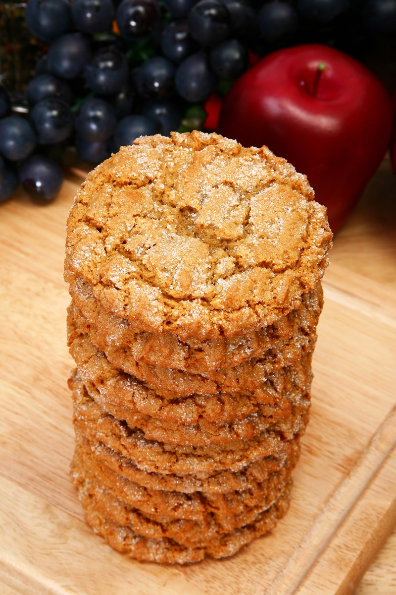 25. Skinny Whole Wheat Snickerdoodle Cookies