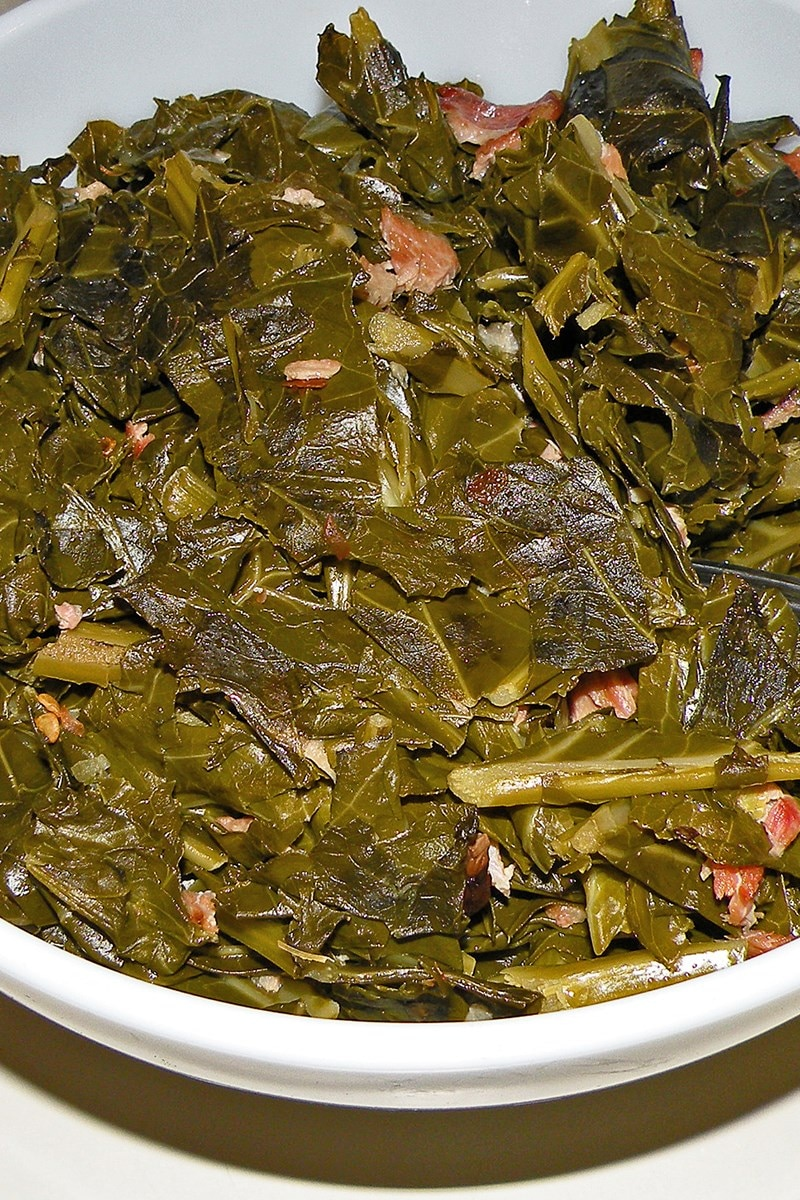 Slow Cooked Collard Greens Kitchme