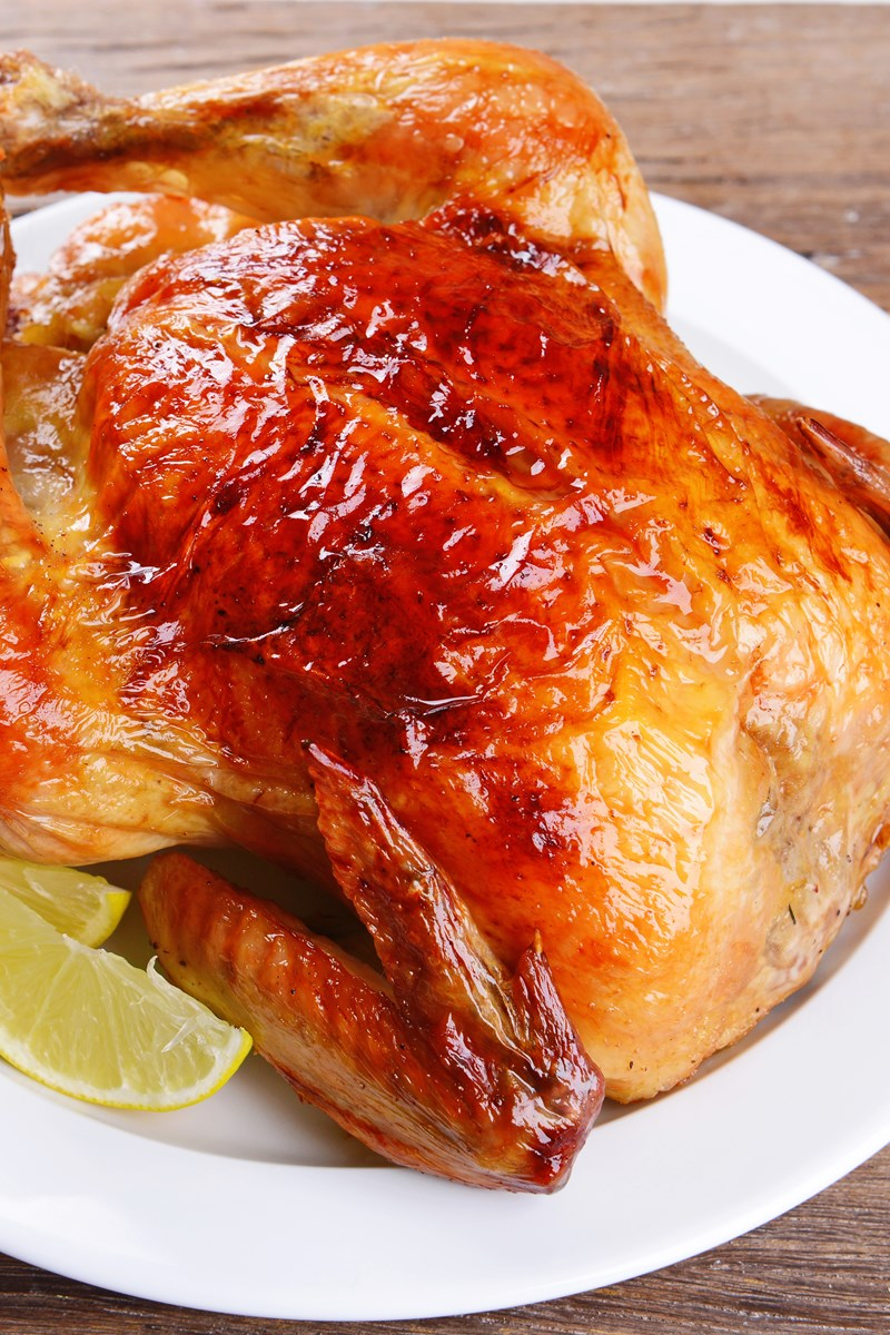 Slow Cooker Asian Style Whole Chicken  Kitchme-7451