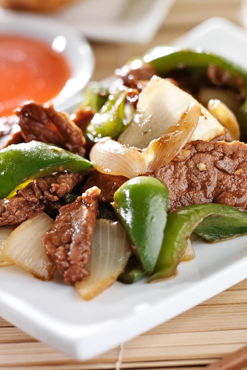 recipe: slow cooker pepper steak [5]