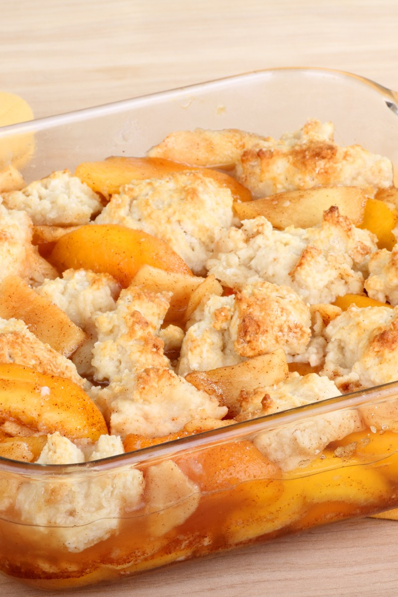 Southern peach cobbler 21820 linepc for Cuisine 800 wow