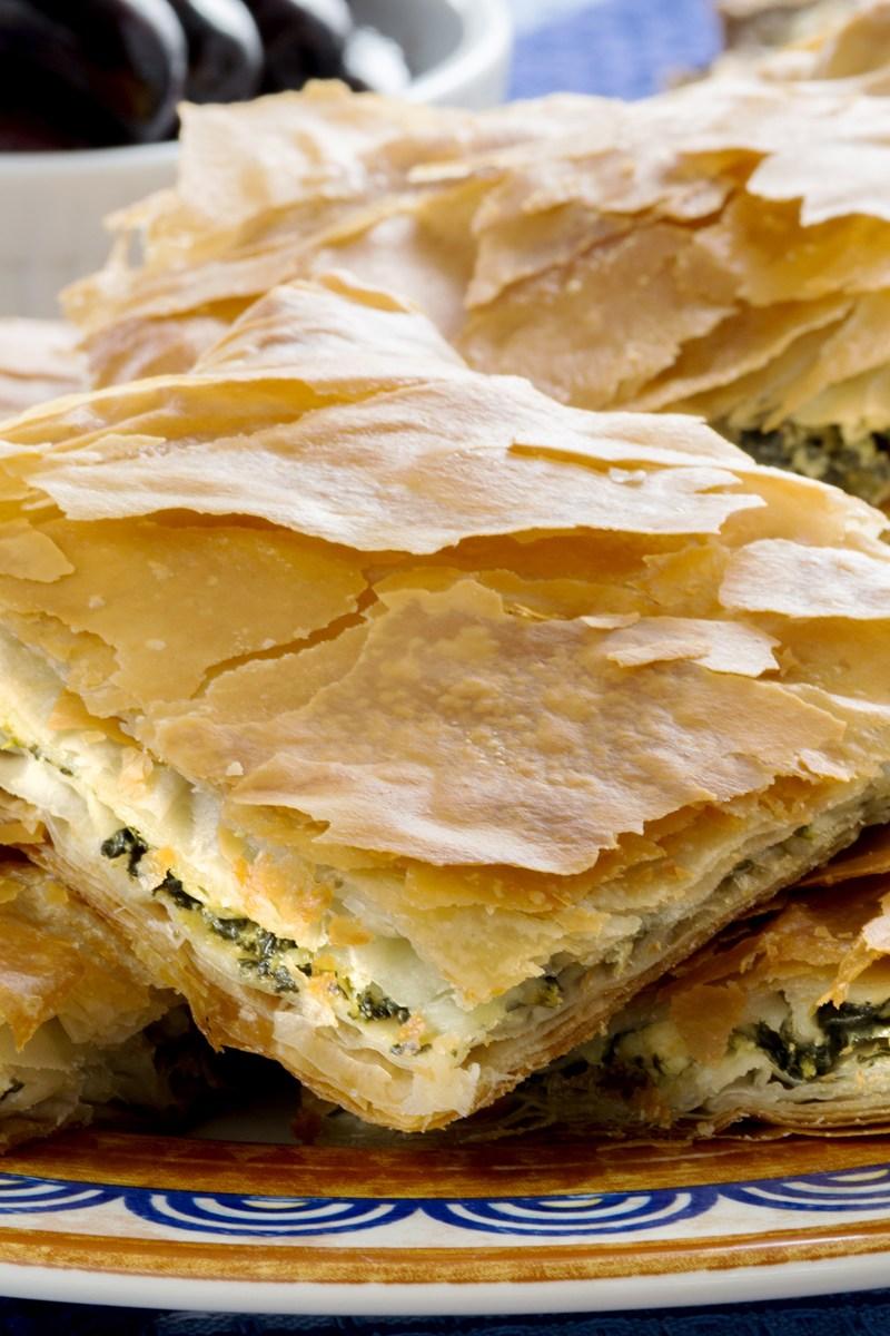 Spanakopita Greek Spinach Pie Kitchme