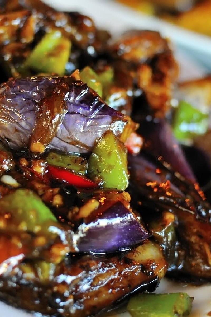 Spicy Asian Eggplant