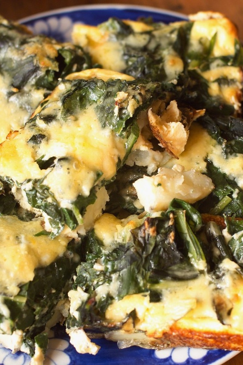 Spinach Frittata | KitchMe