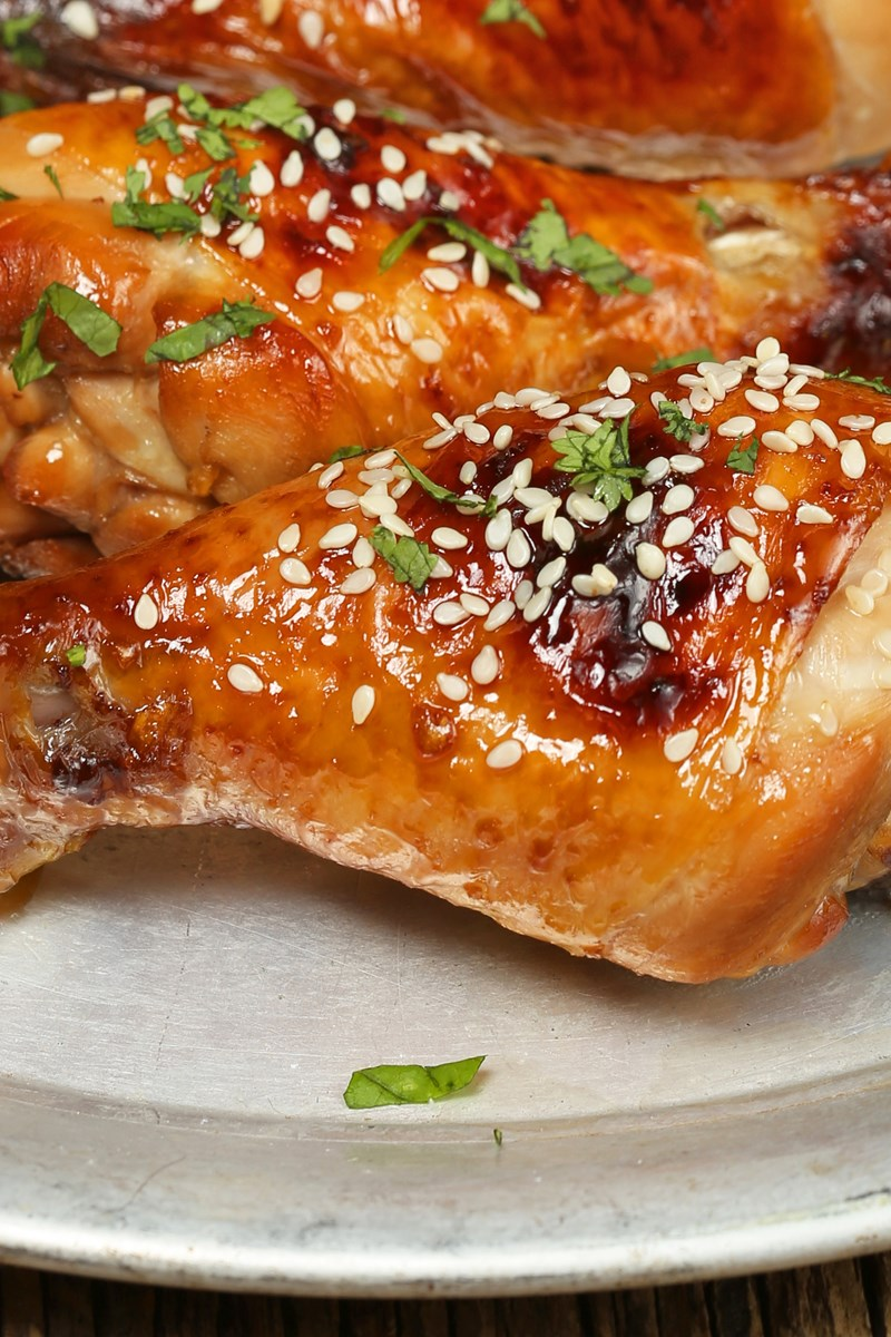Sticky caramelized balsamic chicken drumsticks kitchme forumfinder