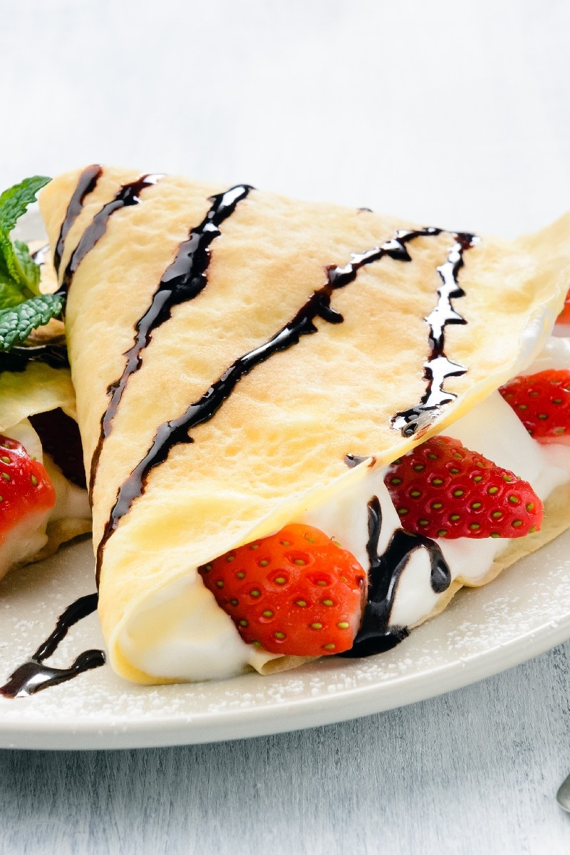 Strawberry Crepes | KitchMe