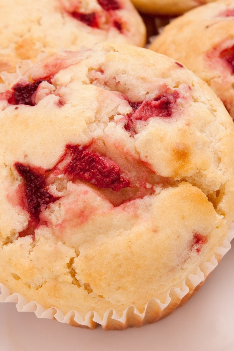 egg in microwave strawberry muffins kitchme 12921
