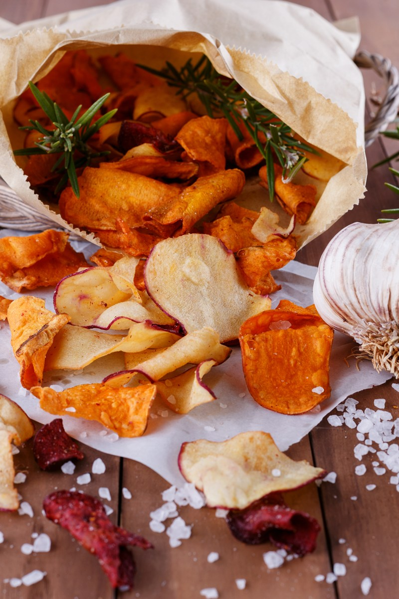 beets and sweets chips