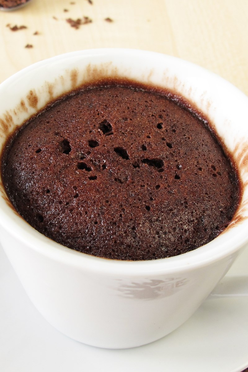 Paleo Coffee Cake In A Mug