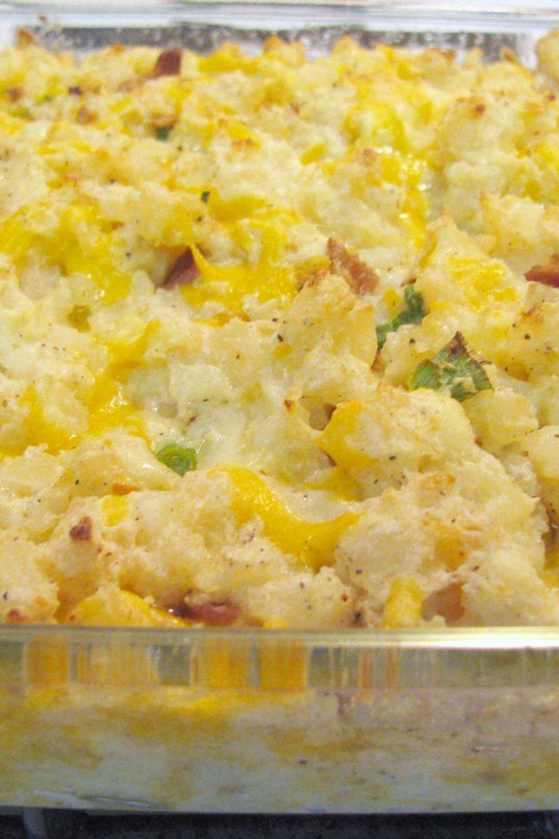Baked Potato Casserole Recipe — Dishmaps