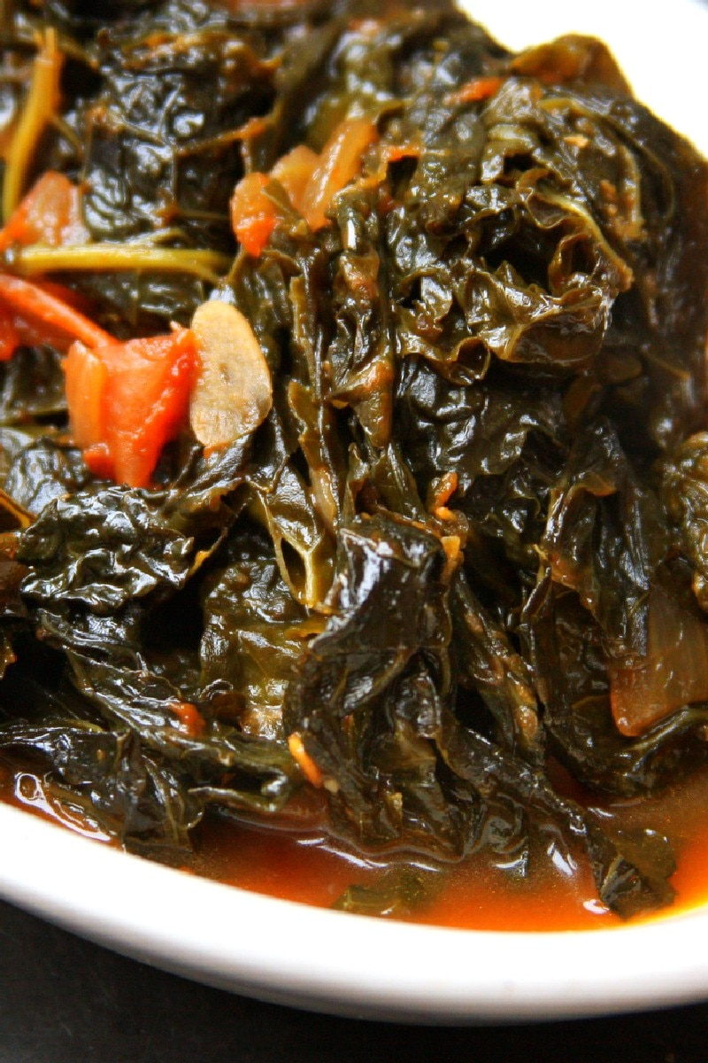 "Vegetarian ""Southern-style"" Collard Greens 