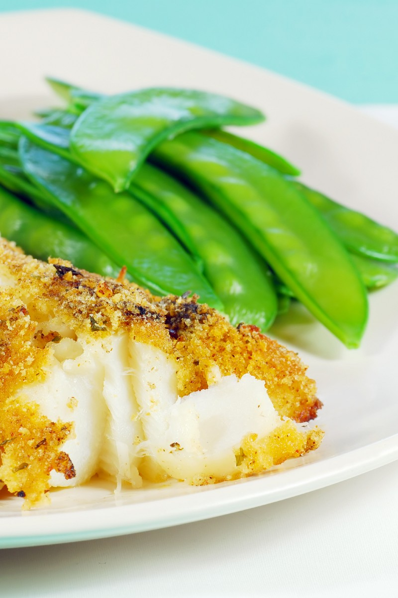 Baked breaded haddock for Breaded fish in oven