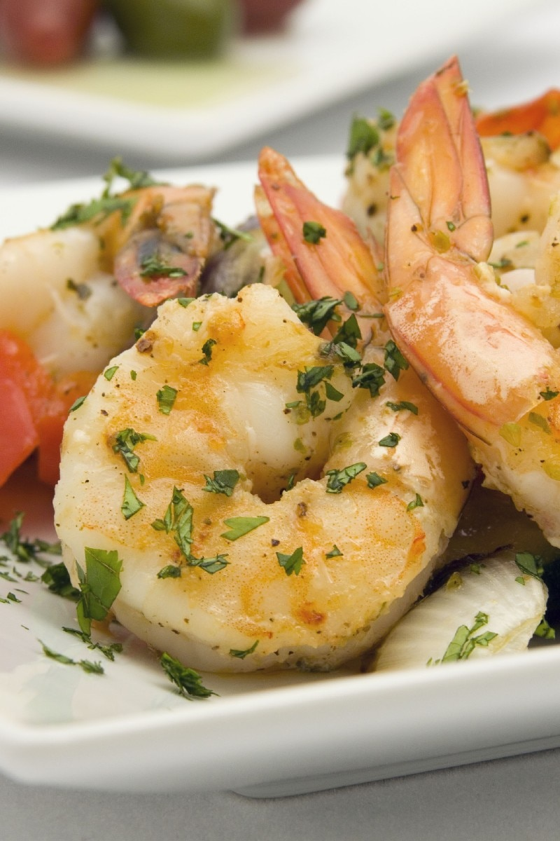Sauteed Shrimp - Weight Watchers (2 Points) | KitchMe