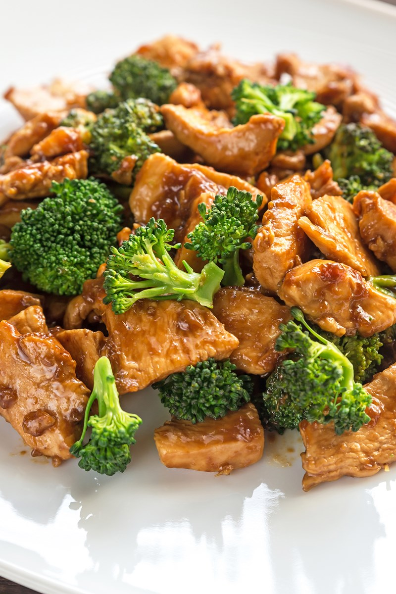 Teriyaki Chicken With Broccoli Weight Watchers  Kitchme-8705