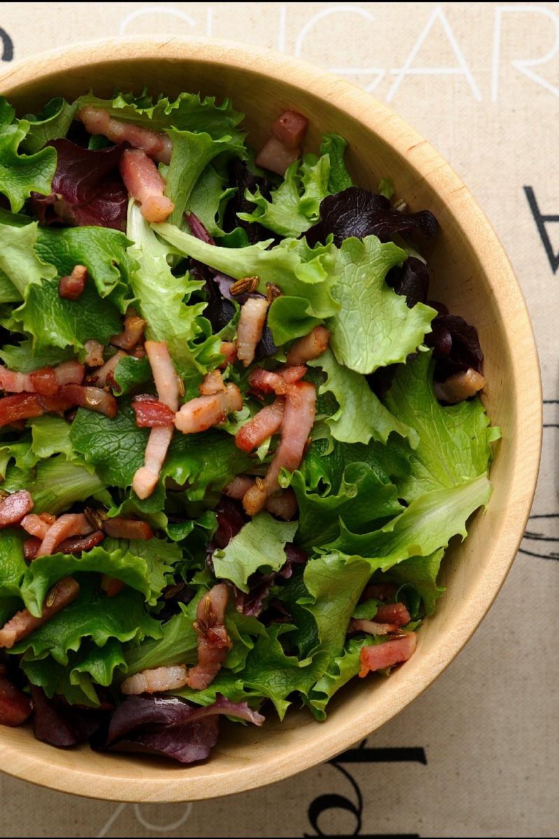 Wilted Lettuce Salad | KitchMe