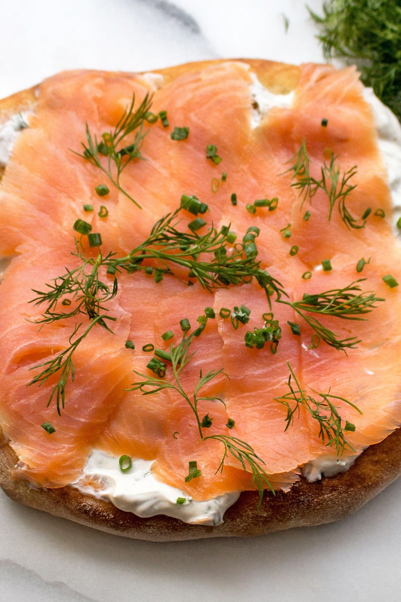 Wolfgang Puck S Smoked Salmon Pizza Spago Copycat Kitchme