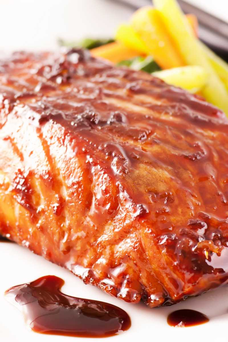 Grilled Salmon With Teriyaki Sauce Weight Watchers Kitchme
