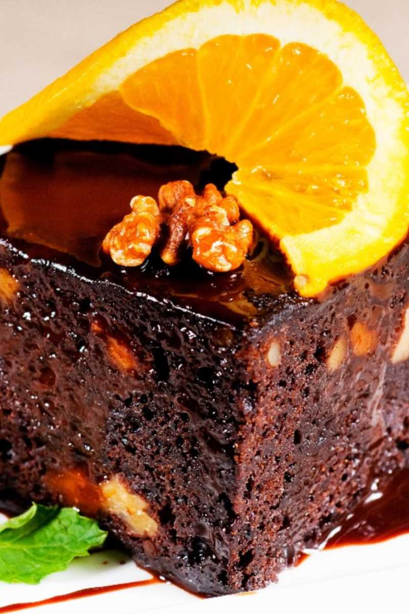 Zucchini Chocolate Orange Cake Kitchme