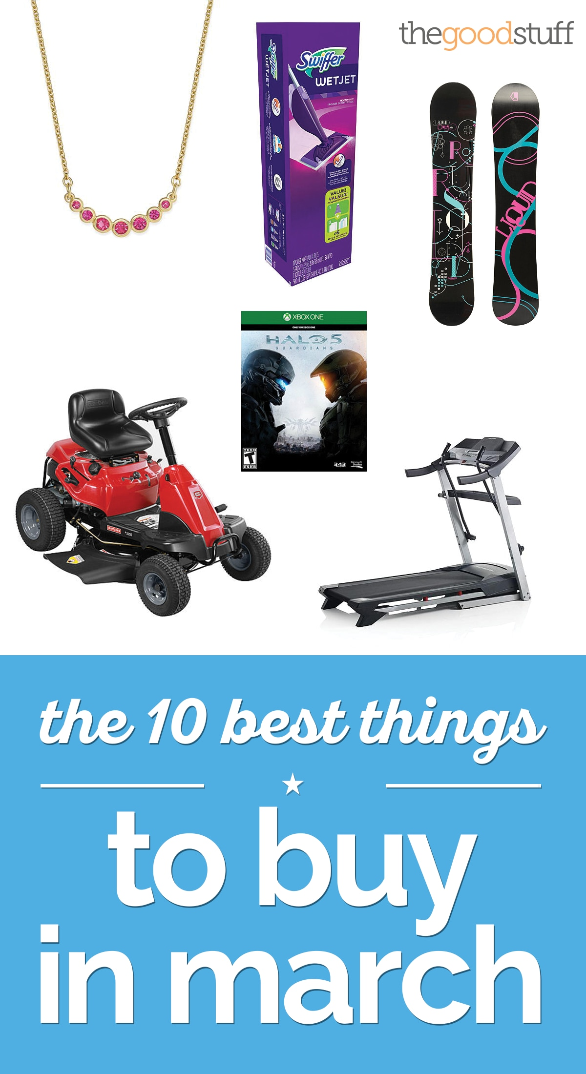 The 10 Best Things to Buy in March | thegoodstuff