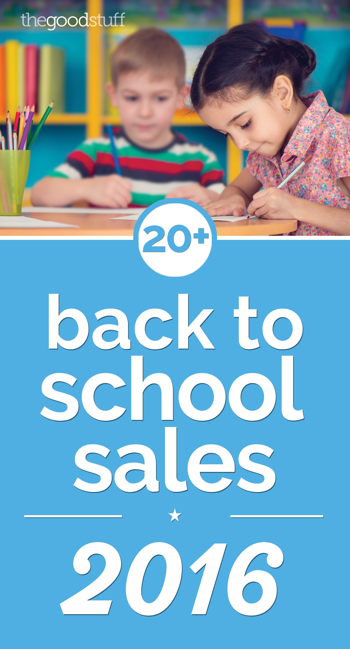 20+ Amazing Back to School Sales 2016 | thegoodstuff
