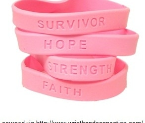 Breast Cancer Wristbands Sourced