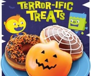 Krispy Kreme Halloween Doughnut