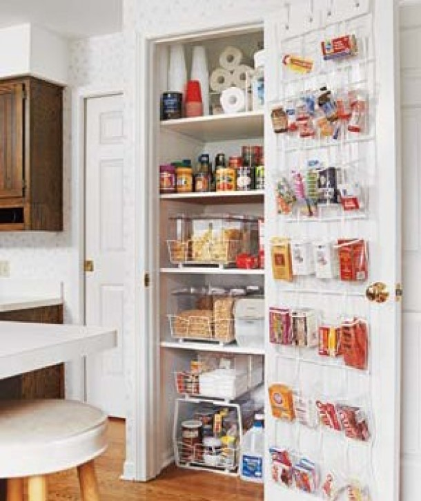 Effective Pantry Shelving Designs For Well Organized: Organizing Your Fridge And Pantry
