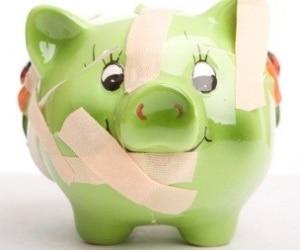 Green pig