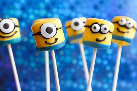 despicable me marshmallow treat minion marshmallow
