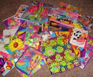 Lisa Frank's School Supplies