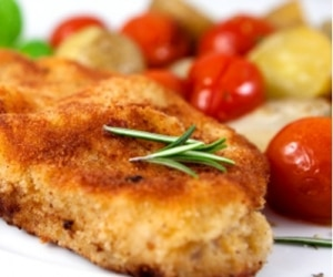 tender breaded turkey cutlets tb