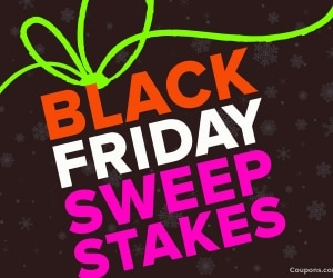 Black Friday Sweepstakes
