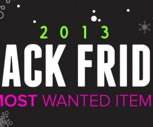Black Friday 2013 Most Wanted Items