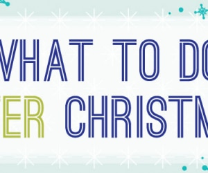 After Christmas Infographic Header