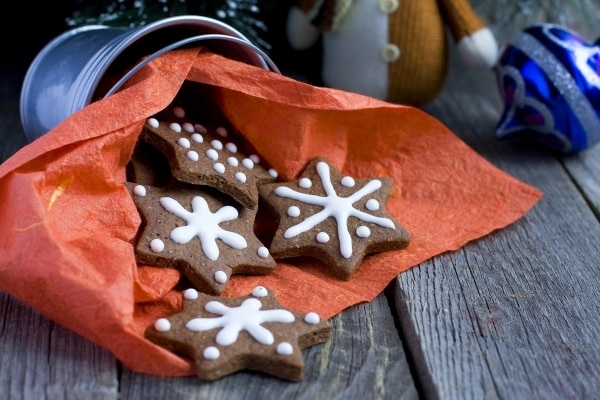 7 Budget Christmas Cookie Recipes: Gingerbread Cookies | thegoodstuff
