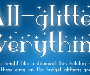 All-glitter everything