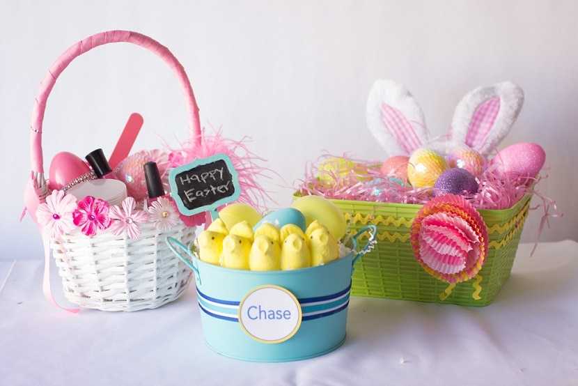 3 diy easter baskets for under 15 thegoodstuff 3 diy easter baskets 3 negle Image collections
