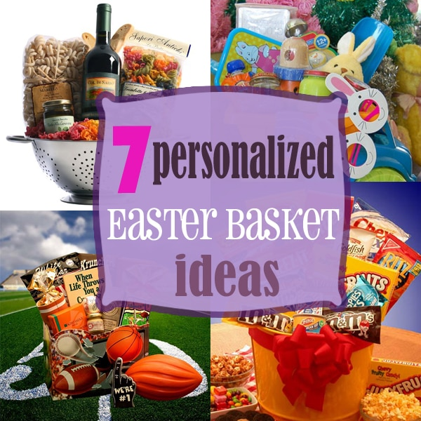 7 personalized easter basket ideas thegoodstuff negle Image collections