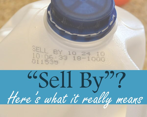 Sell by date meaning in Perth