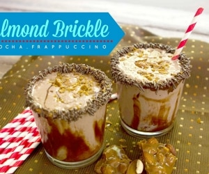 Almond Brickle Mocha Frappuccino