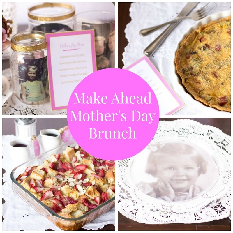 Make Ahead Mother's Day Brunch Recipes